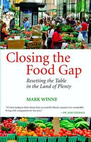 CLOSING THE FOOD GAP by Mark Winne