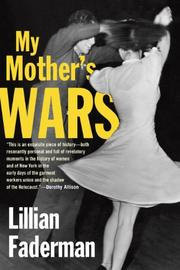 Cover art for MY MOTHER'S WARS