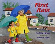 Cover art for FIRST RAIN