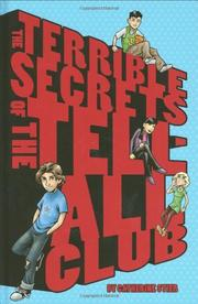 Book Cover for THE TERRIBLE SECRETS OF THE TELL-ALL CLUB