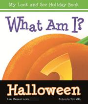 WHAT AM I?  HALLOWEEN by Anne Margaret Lewis