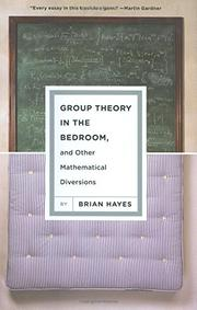 GROUP THEORY IN THE BEDROOM by Brian Hayes