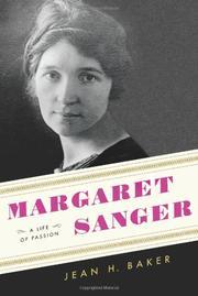 MARGARET SANGER by Jean H. Baker