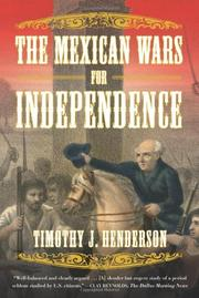 Cover art for THE MEXICAN WARS FOR INDEPENDENCE