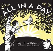 Book Cover for ALL IN A DAY