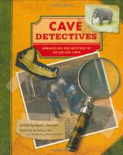 Book Cover for CAVE DETECTIVES