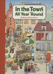 IN THE TOWN ALL YEAR 'ROUND by Rotraut Susanne Berner