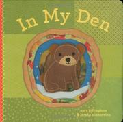 IN MY DEN by Sara Gillingham