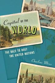 Book Cover for CAPITAL OF THE WORLD
