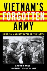 VIETNAM'S FORGOTTEN ARMY by Andrew Wiest