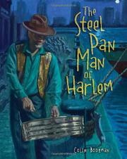 Book Cover for THE STEEL PAN MAN OF HARLEM