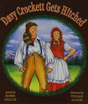 Book Cover for DAVY CROCKETT GETS HITCHED