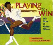 Cover art for PLAYING TO WIN