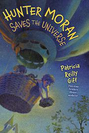 Book Cover for HUNTER MORAN SAVES THE UNIVERSE