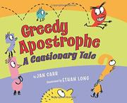 GREEDY APOSTROPHE by Jan Carr