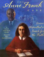 Cover art for THE ANNE FRANK CASE