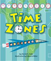 TIME ZONES by David A. Adler