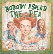 NOBODY ASKED THE PEA by John Warren Stewig