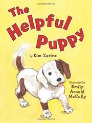 Book Cover for THE HELPFUL PUPPY