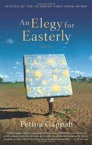 Book Cover for AN ELEGY FOR EASTERLY