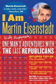 I AM MARTIN EISENSTADT by Martin Eisenstadt