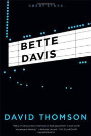 Cover art for BETTE DAVIS