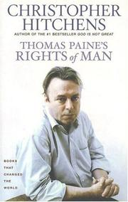 Book Cover for THOMAS PAINE'S RIGHTS OF MAN