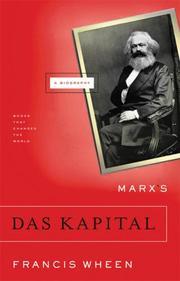MARX'S DAS KAPITAL by Francis Wheen