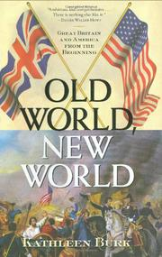 OLD WORLD, NEW WORLD by Kathleen Burk
