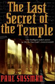 Book Cover for THE LAST SECRET OF THE TEMPLE