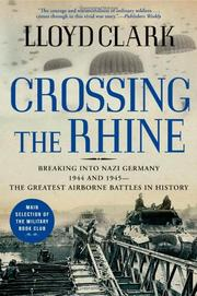 Cover art for CROSSING THE RHINE
