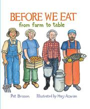 BEFORE WE EAT by Pat Brisson