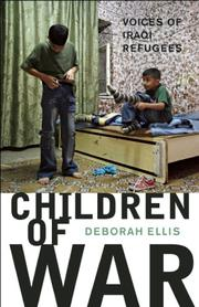 Cover art for CHILDREN OF WAR
