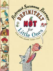 Cover art for DEFINITELY NOT FOR LITTLE ONES