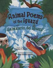 Book Cover for ANIMAL POEMS OF THE IGUAZÚ / ANIMALARIO DEL IGUAZÚ