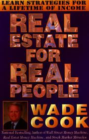 REAL ESTATE FOR REAL PEOPLE by Anthony Von Mickle