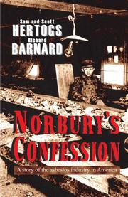 NORBURY'S CONFESSION by Richard L. Barnard