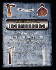 HANDBOOK FOR IRONMONGERS by H.G. Brack