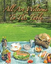 ALL ARE WELCOME TO THIS TABLE by Marion O. Celenza