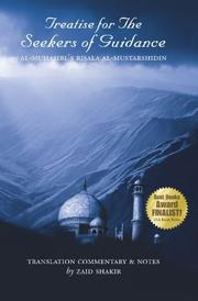 TREATISE FOR THE SEEKERS OF GUIDANCE by Imam Harith al-Muhasibi