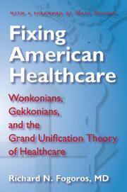 Cover art for FIXING AMERICAN HEALTHCARE
