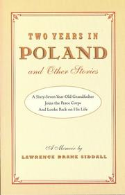 TWO YEARS IN POLAND AND OTHER STORIES by Lawrence Brane Siddall