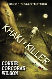 Khaki=Killer by Connie Corcoran Wilson
