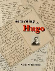 SEARCHING FOR HUGO by Naomi M Rosenthal