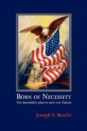 Cover art for BORN OF NECESSITY