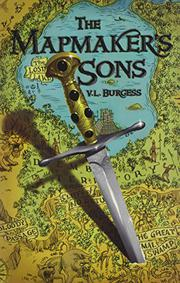 Cover art for THE MAPMAKER'S SONS
