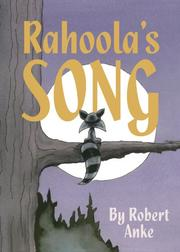 Book Cover for RAHOOLA'S SONG