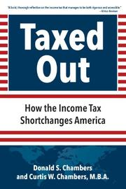 TAXED OUT by Donald S. Chambers