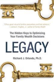 LEGACY by Richard J. Orlando
