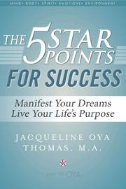 THE 5 STAR POINTS FOR SUCCESS by Jacqueline Oya  Thomas